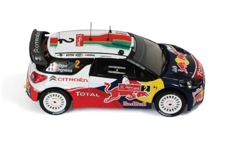 Citroen DS3 WRC #2 Winner Rally Portugal 2011