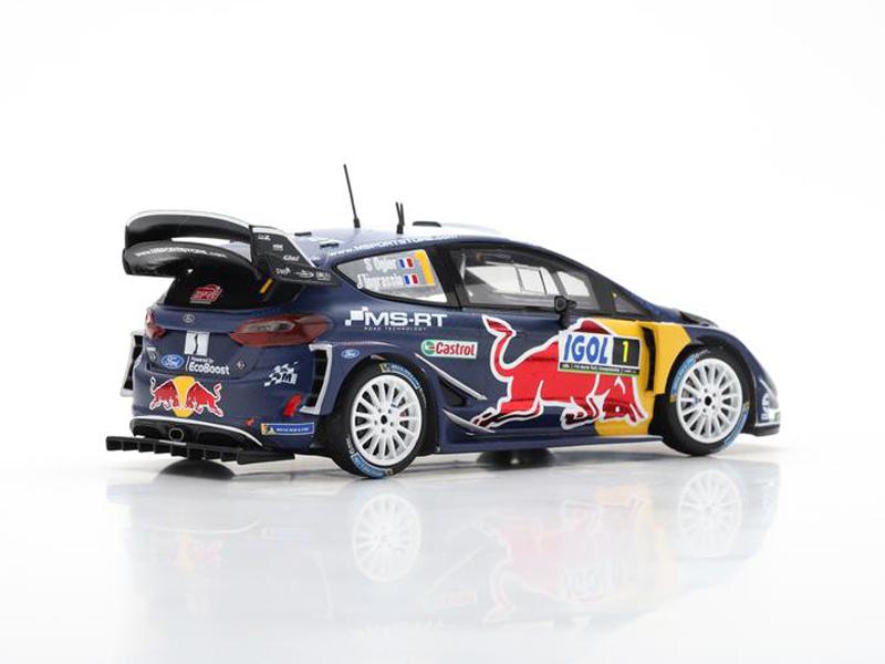 Ford Fiesta WRC M-Sport Ford WRT No.1 Winner Rally Tour de Corse 2018 S. Ogier / J. Ingrassia