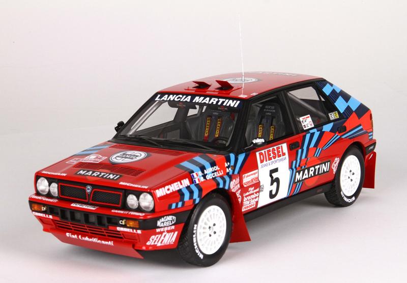 1/18 Lancia Delta HF Integrale 16V Sanremo 1989 #5