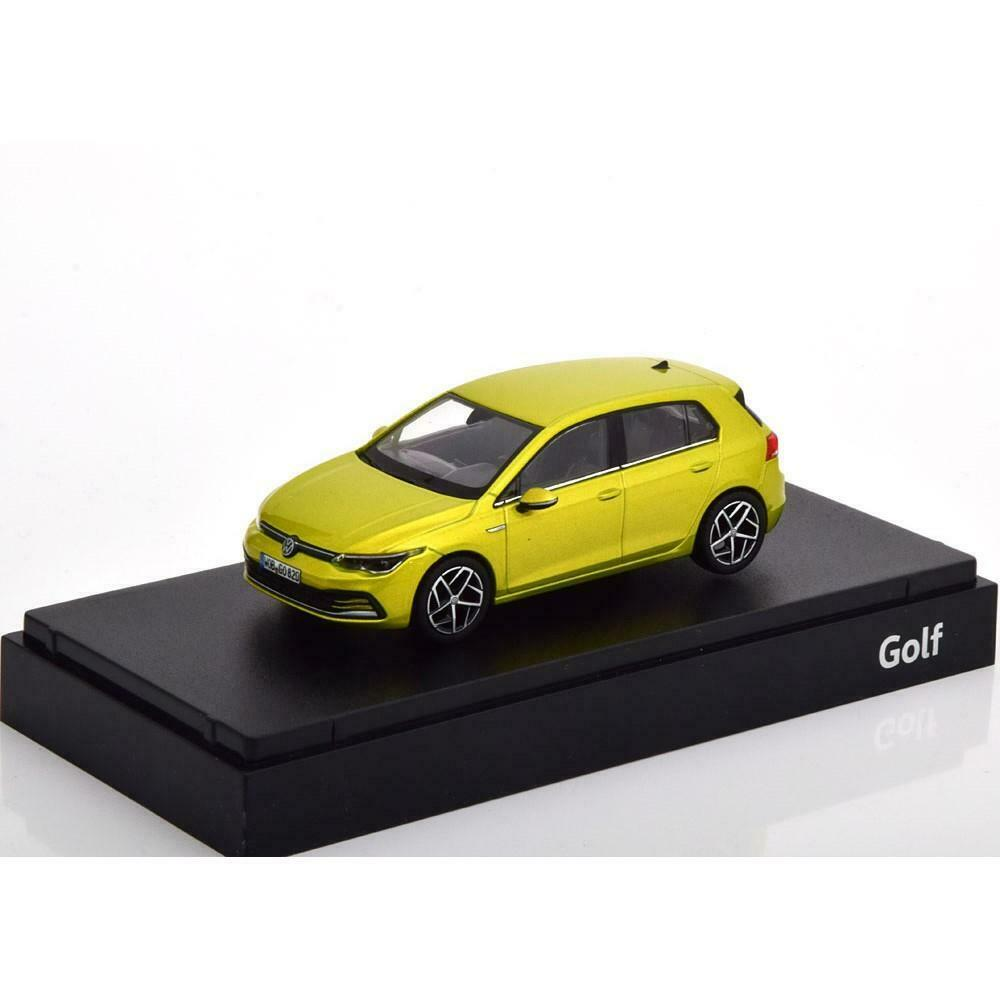 Volkswagen VW Golf 8 2020 Yellow Green Metallic