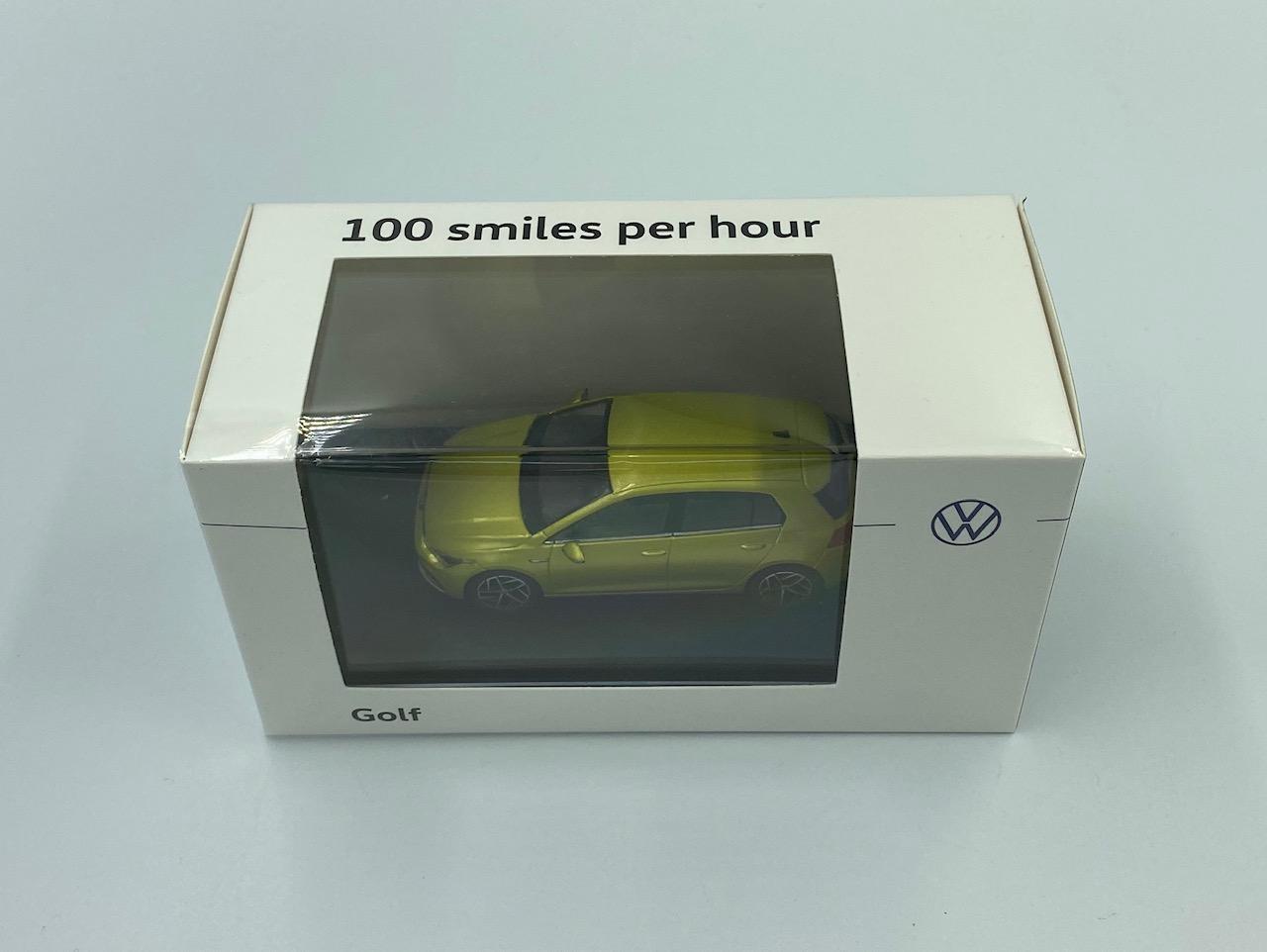 Volkswagen VW Golf 8 2020 Yellow Green Metallic