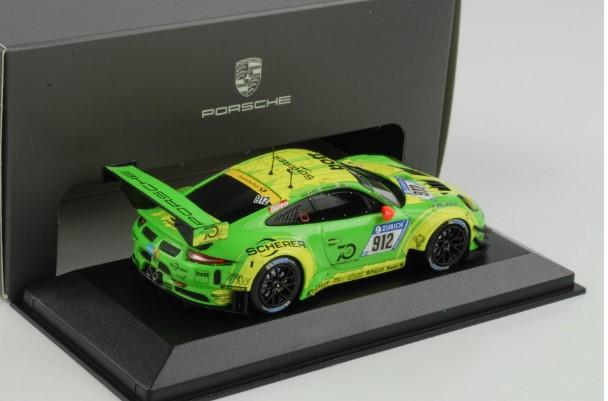 ポルシェ特注品 Porsche 911 GT3 R #912 24h Winner Nurburgring 2018