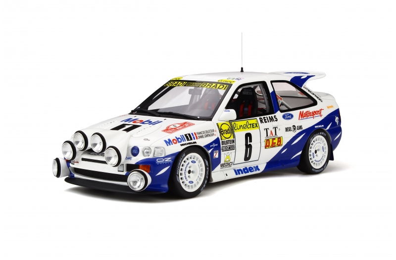 1/18 Ford Escort RS Cosworth 4X4 Gr. A  Rallye Monte Carlo
