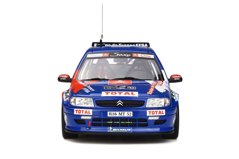 1/18 Citroen Saxo Kit Car Tour de Corse 1999 #49
