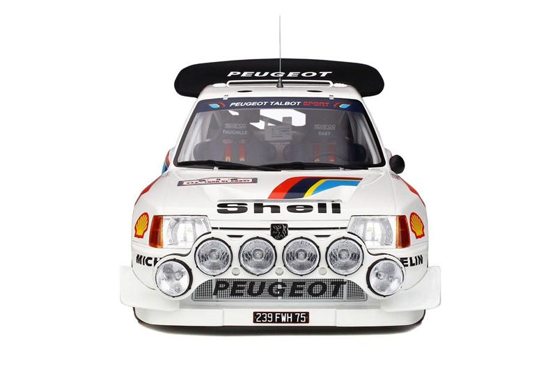 1/12 Peugeot 205 T16 EVO 2 - Tour de Corse 1986 #5