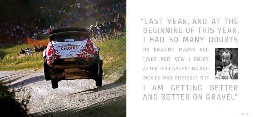 WRC face to face 2014 -official Year Book (洋書)