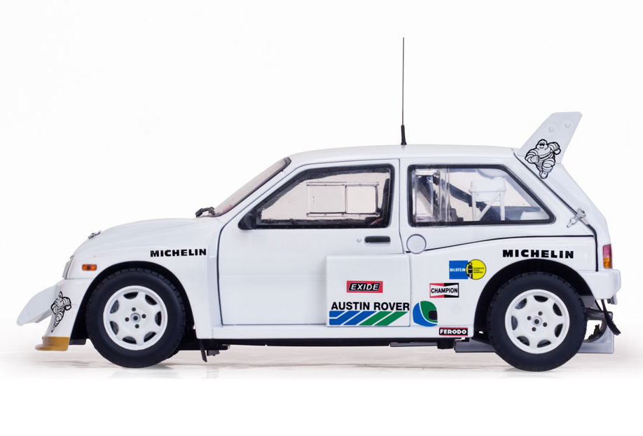 1/18 MG Metro 6R4 Aryton Senna Test Car