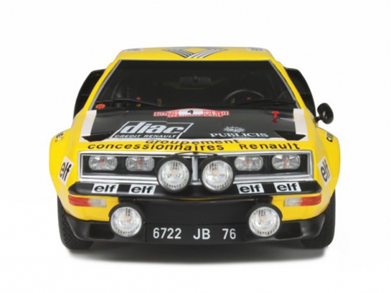 1/18 Alpine A310 1600 Groupe 4  Monte Carlo 1976 Yellow