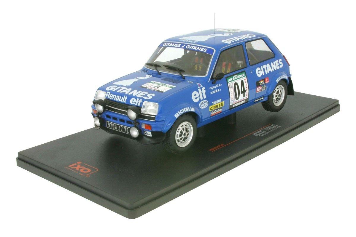 1/18 Renault 5 Alpine #04 Rally Bandama 1978
