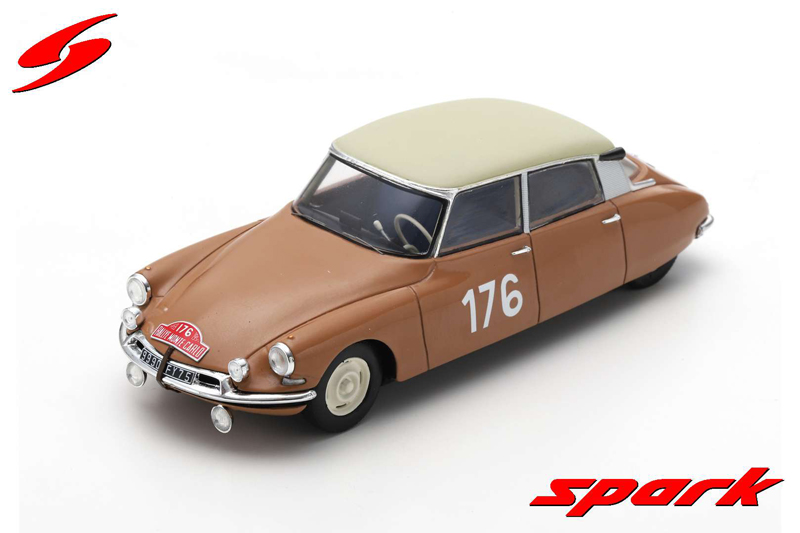 Citroen ID 19 No.176 Winner Monte Carlo Rally 1959
