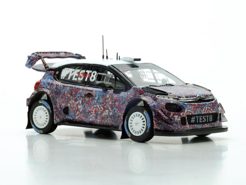 Citroen C3 WRC Test Car for 2017
