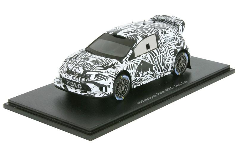 Volkswagen Polo WRC Test Car for 2017 Sebastien Ogier