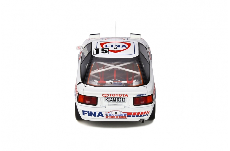 1/18 Toyota Celica GT-Four (ST165) Tour de Corse 1991 #15 (White / Blue / Red)