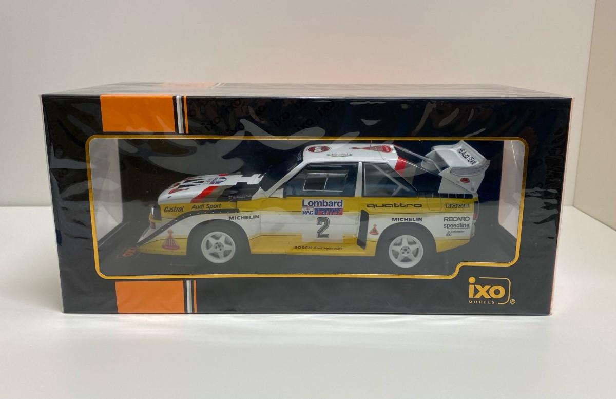 1/18 Audi Sport Quattro S1 #2 RAC Rally 1985