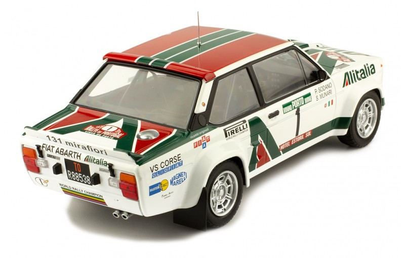 1/18 FIAT 131 Abarth #1 Rally Portugal 1978