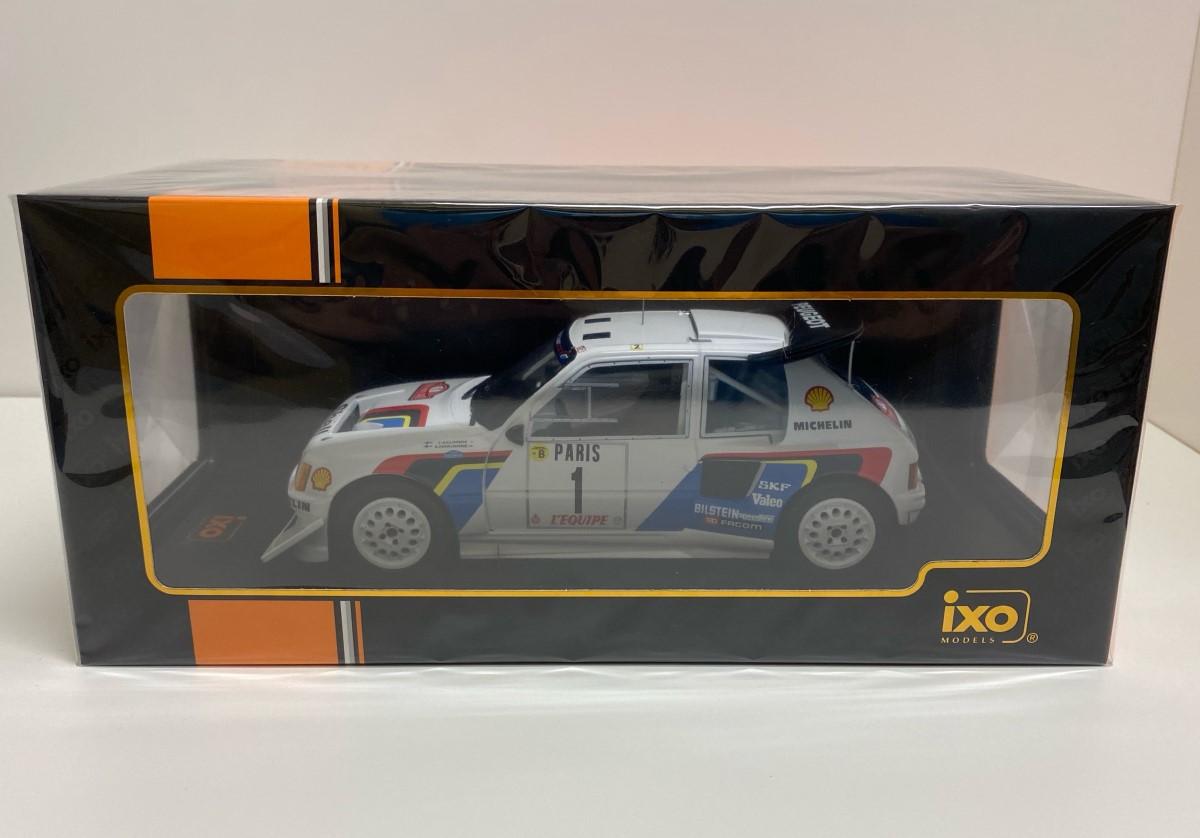 1/18 Peugeot 205 T16 E2 #1 Rally Monte Carlo 1986