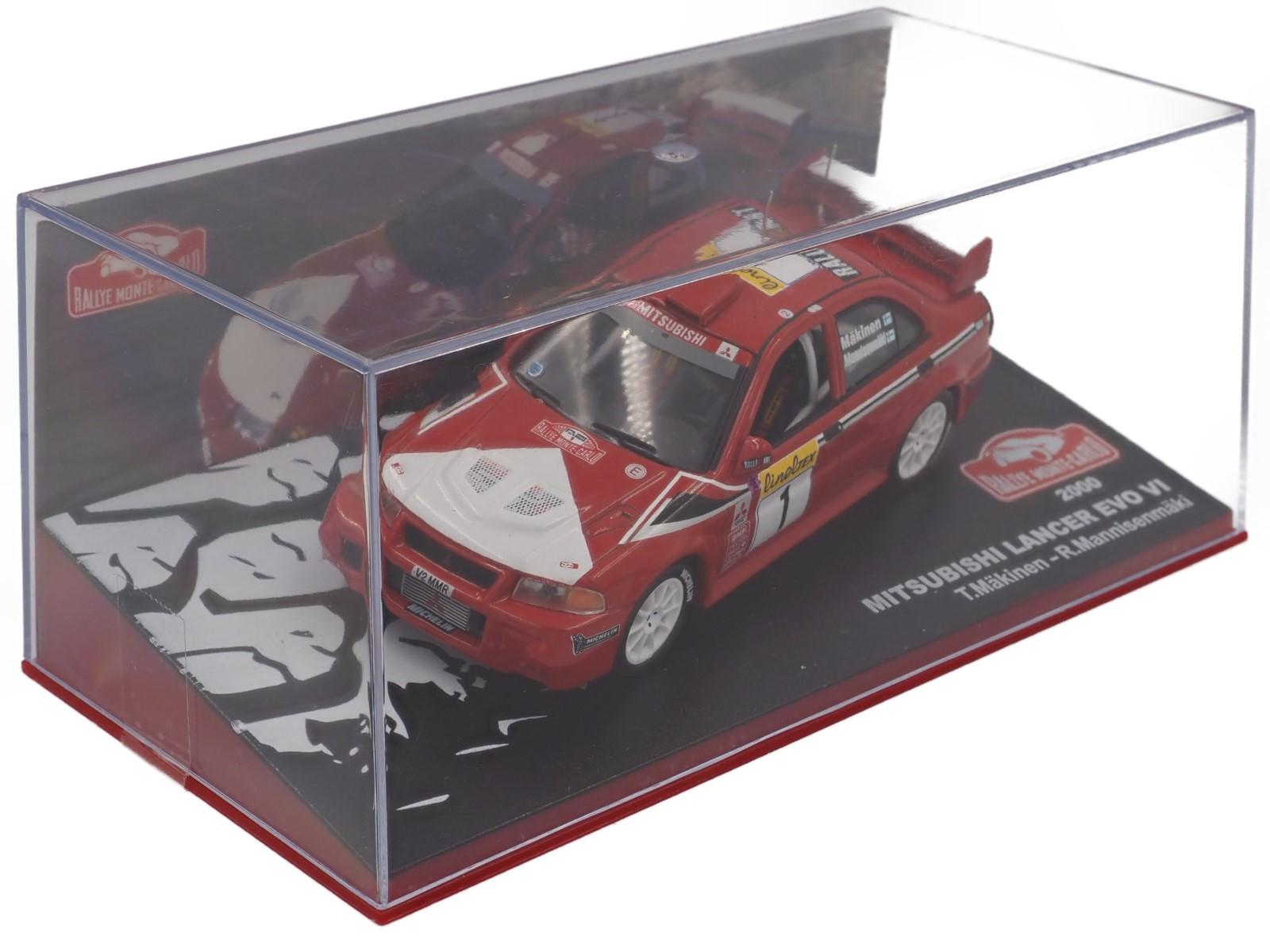 Mitsubishi Lancer EVO VI Rallye Montecarlo 2000
