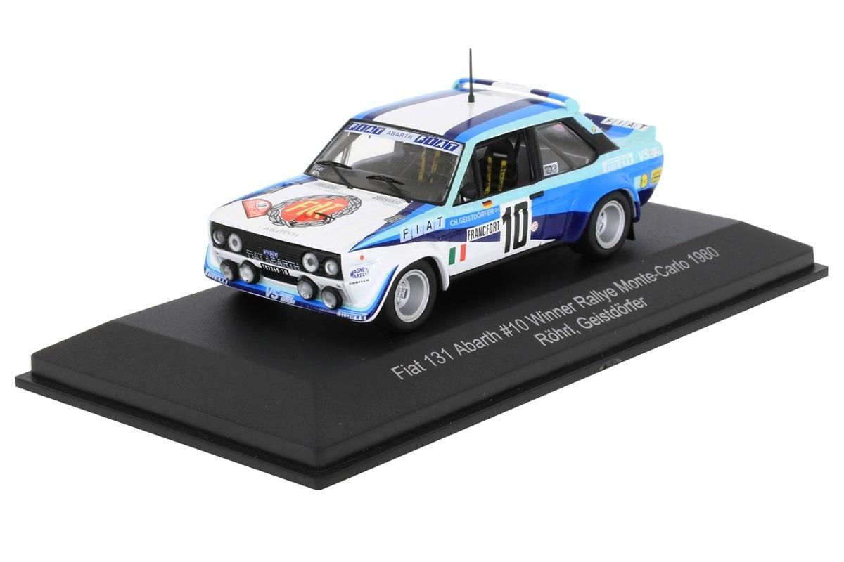 Fiat 131 Abarth #10 Winner Rally Monte Carlo 1980