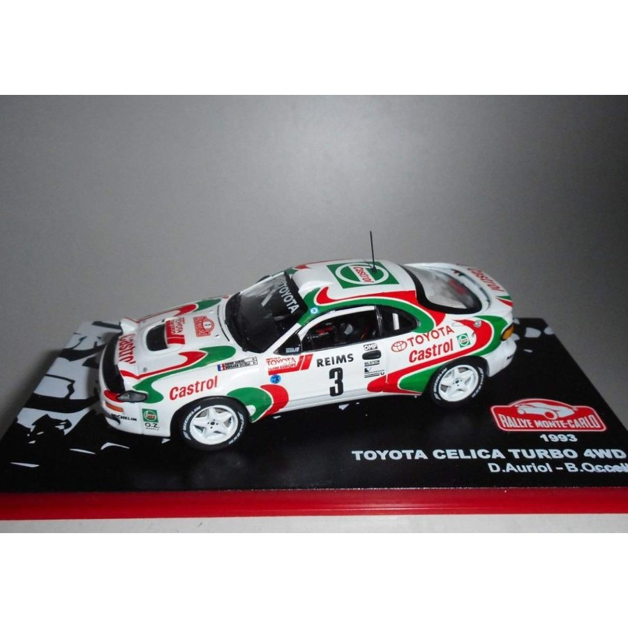 Toyota Celica Turbo 4WD #3 1993, MONTE CARLO Rallye