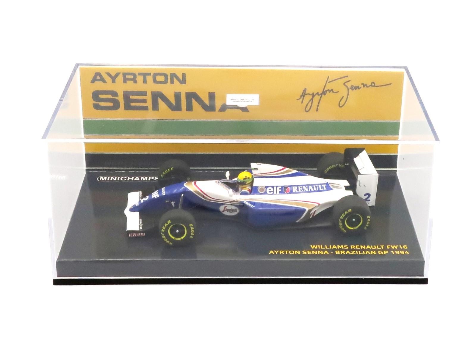 WILLIAMS RENAULT FW16 #2 BRAZIL GP 1994 AYRTON SENNA