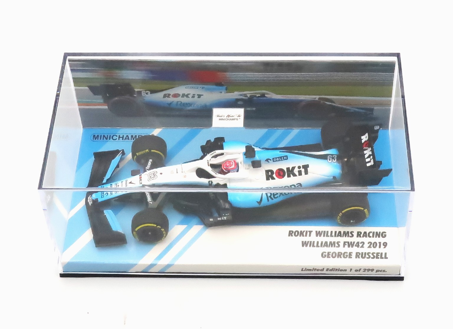 ROKIT WILLIAMS RACING WILLIAMS FW42 #63 F1 2019 G.Russell