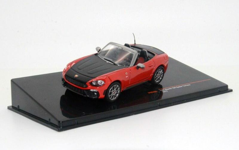 Fiat Abarth 124 Spider Turismo 2017 Red