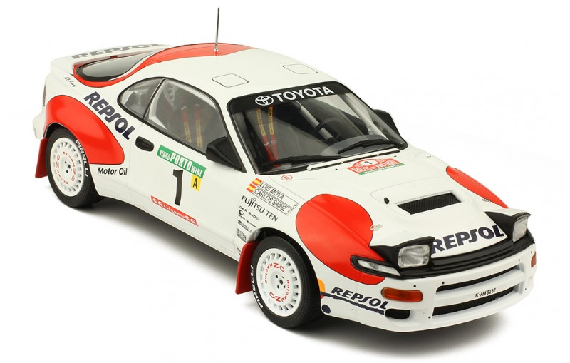1/18 TOYOTA Celica GT-Four (ST185) Rally Portugal'92 #1