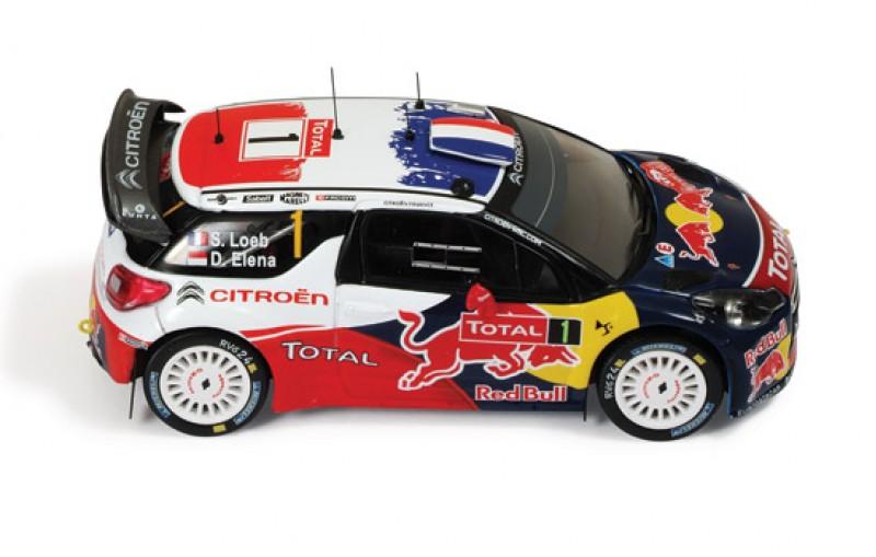 Citroen DS3 WRC #1 Winner Rally Monte Carlo 2012
