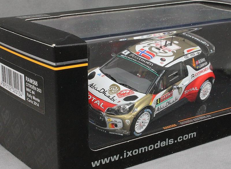 Citroen DS3 WRC #4 Rally Monte-Carlo 2014