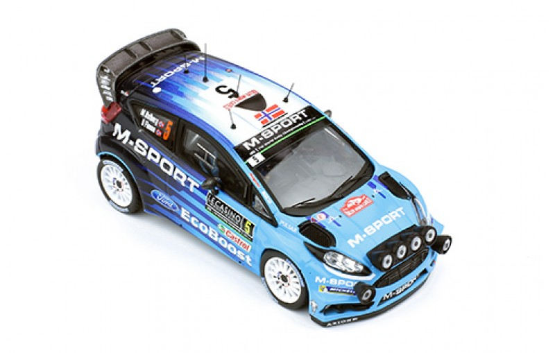 FORD FIESTA RS WRC #5 Rally Monte-Carlo 2016 (with night lights)