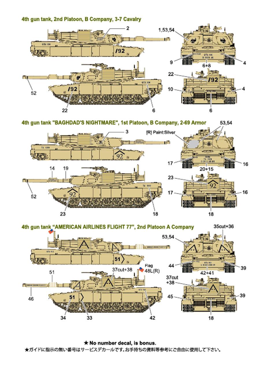 1/35 U.S.M1A1HA ABRAMS -OPERATION IRAQI FREEDOM- Detail Up Parts set<br>FOX MODELS