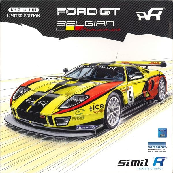 1/24 FORD GT GT1 BELGIAN #9 FIA GT 2011 <br>simi-R【Kit】