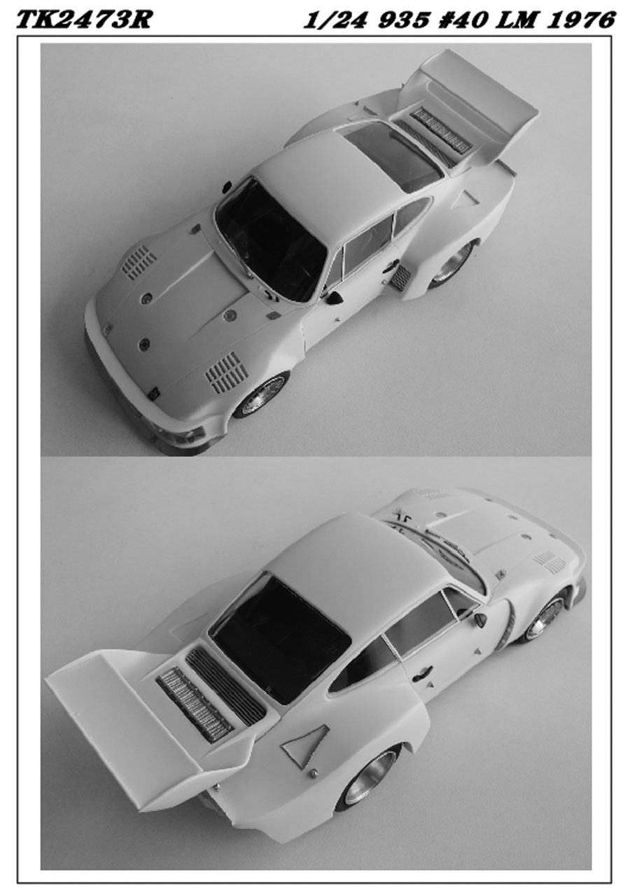 1/24 935 #40 LM 1976 conversion kit <br>for TAMIYA<br>STUDIO27 【Conversion Kit】