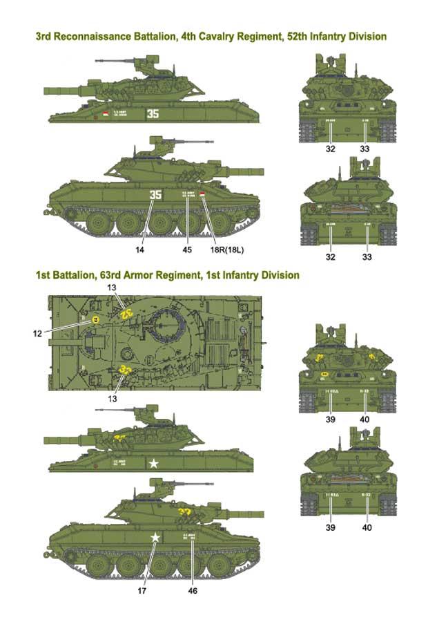 1/35 M551 SHERIDAN  Decal set [1]VIETNAM WAR<br>FOX MODELS