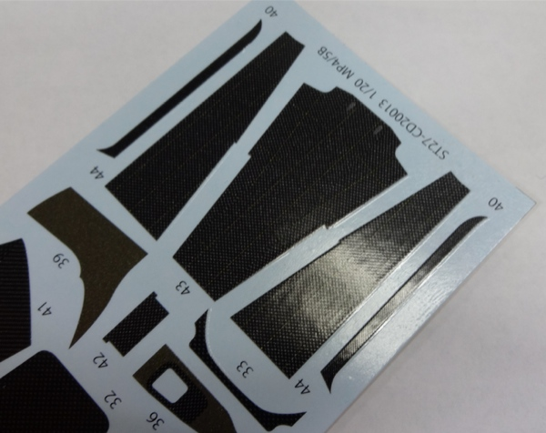 1/20 MP4/5B Carbon decal<br>forTAMIYA20026<br>STUDIO27 【Carbon Decal】