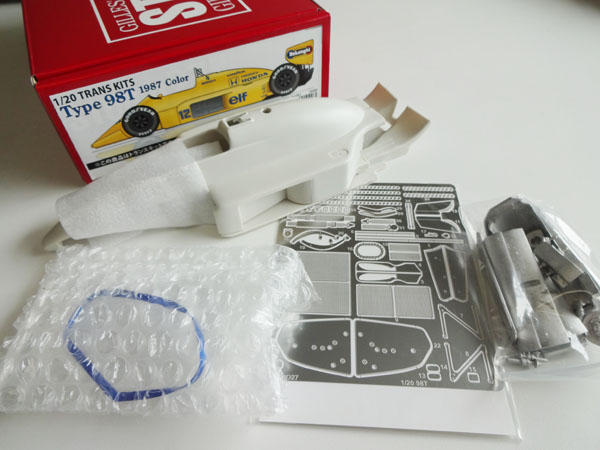 1/20 Type 98T 1987col. CONVERSION KIT<br>for TAMIYA1/20 99T<br>STUDIO27 【Convesion Kit】