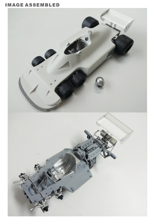1/20 P34 1977 early season conversion kit <br>for FUJIMI<br>STUDIO27 【Convesion Kit】