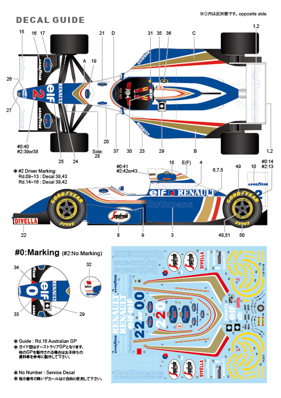 1/20 FW16B 1994 <br>for FUJIMI<br>STUDIO27 【Conversion Kit】