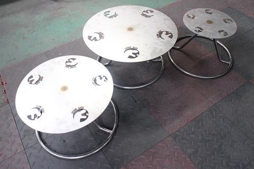 SUXON BASE 回転テーブル(スチール)