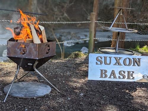 SUXON BASE ペンタくん焚き火台 ステンレスセット