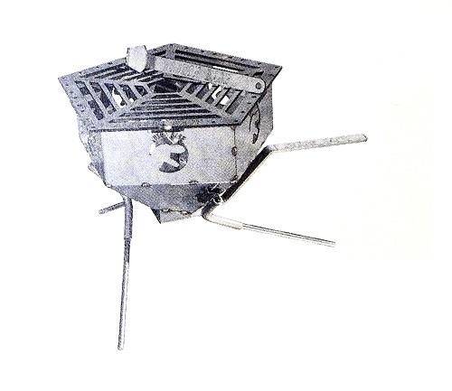 【単品】SUXON BASE ペンタくん焚き火台(ステンレス)