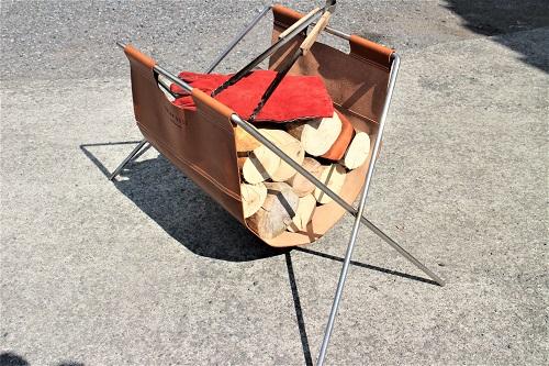 SUXON BASE イタリア本革製 薪台