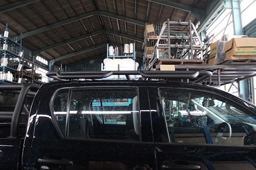 トヨタ 125ハイラックス ルーフキャリア 【前・後期モデル対応】