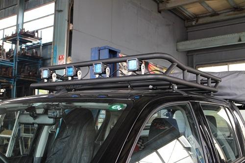 トヨタ 125ハイラックス後期 ルーフラック