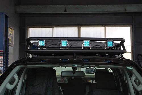 トヨタ 125ハイラックス ルーフラック Low Ver.【前・後期モデル対応】