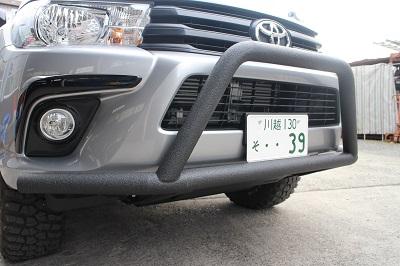 トヨタ ハイラックス 車検対応ブルバー【型式:QDF−GUN125】