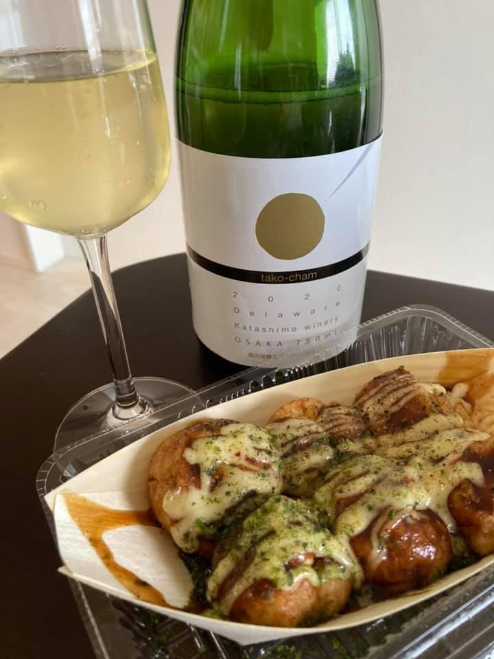 【送料無料】スパークリングワイン「たこシャン」