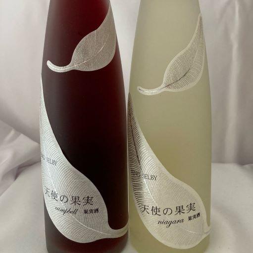 【送料無料】日本ワイン「天使の果実」赤ワイン・白ワイン2本セット
