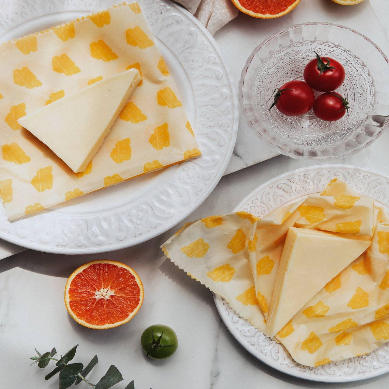 ナッツ ビーズワックスラップ 3点セット チーズ