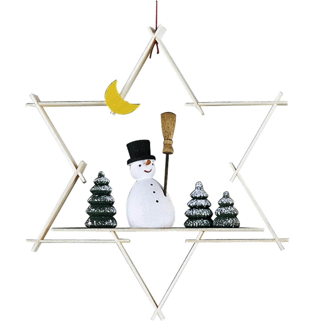 ギュンターライヒェル クリスマスツリーデコレーション 雪だるま